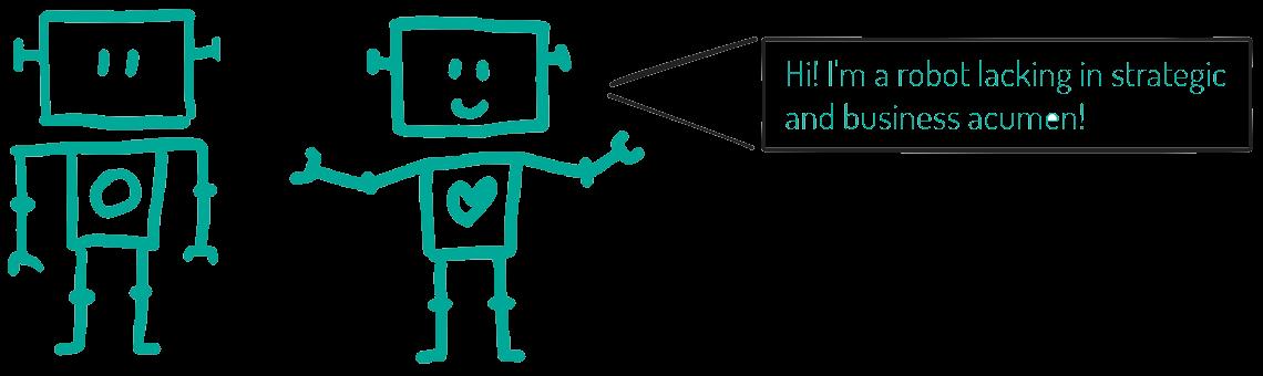 Robots Lack Acumen